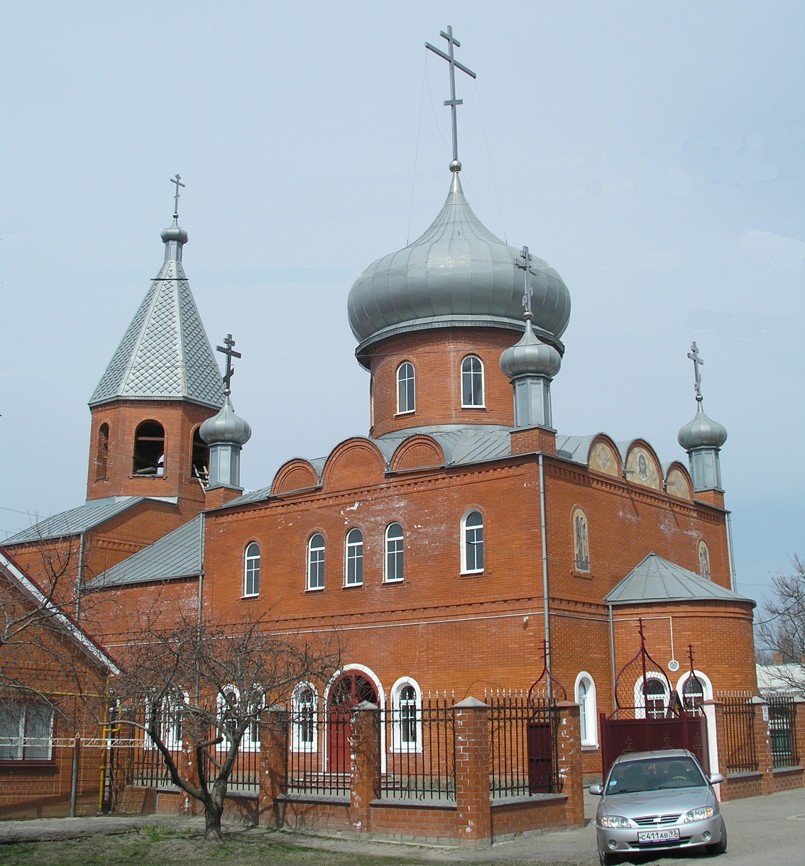 Церковь на ул. Железнодорожной