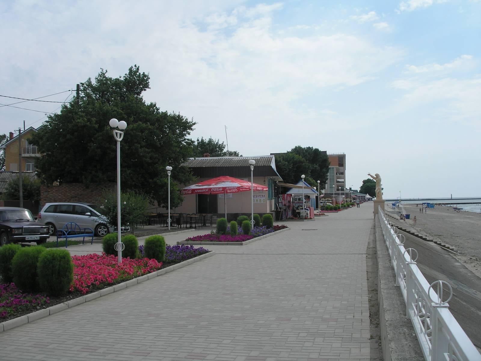 Набережная Приморско-Ахтарска