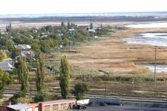 Вид на окраину Приморско-Ахтарска