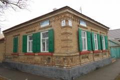 Купеческие дома. Угол ул. Тамаровского и Пролетарской