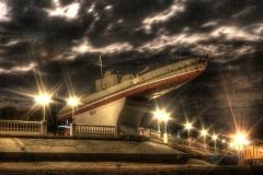 Вечерняя набережная Приморско-Ахтарска