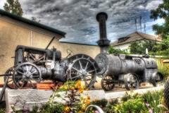 Трактор в музее Приморско-Ахтарска