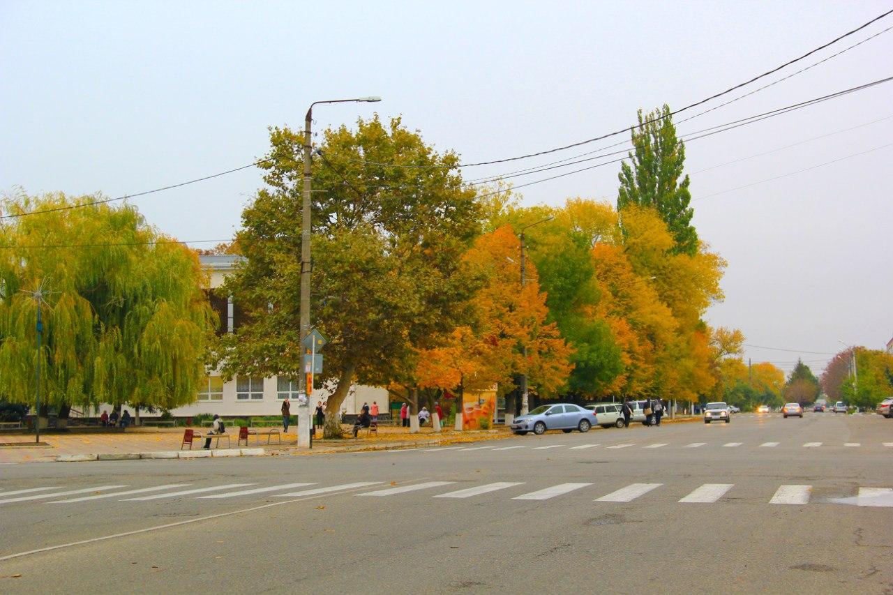 Осень в Приморско-Ахтарске