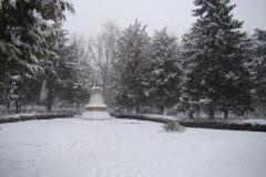 Зима в парке Приморско-Ахтарска