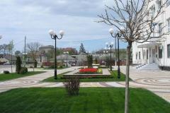 Площадь у райадминисрации Приморско-Ахтарска