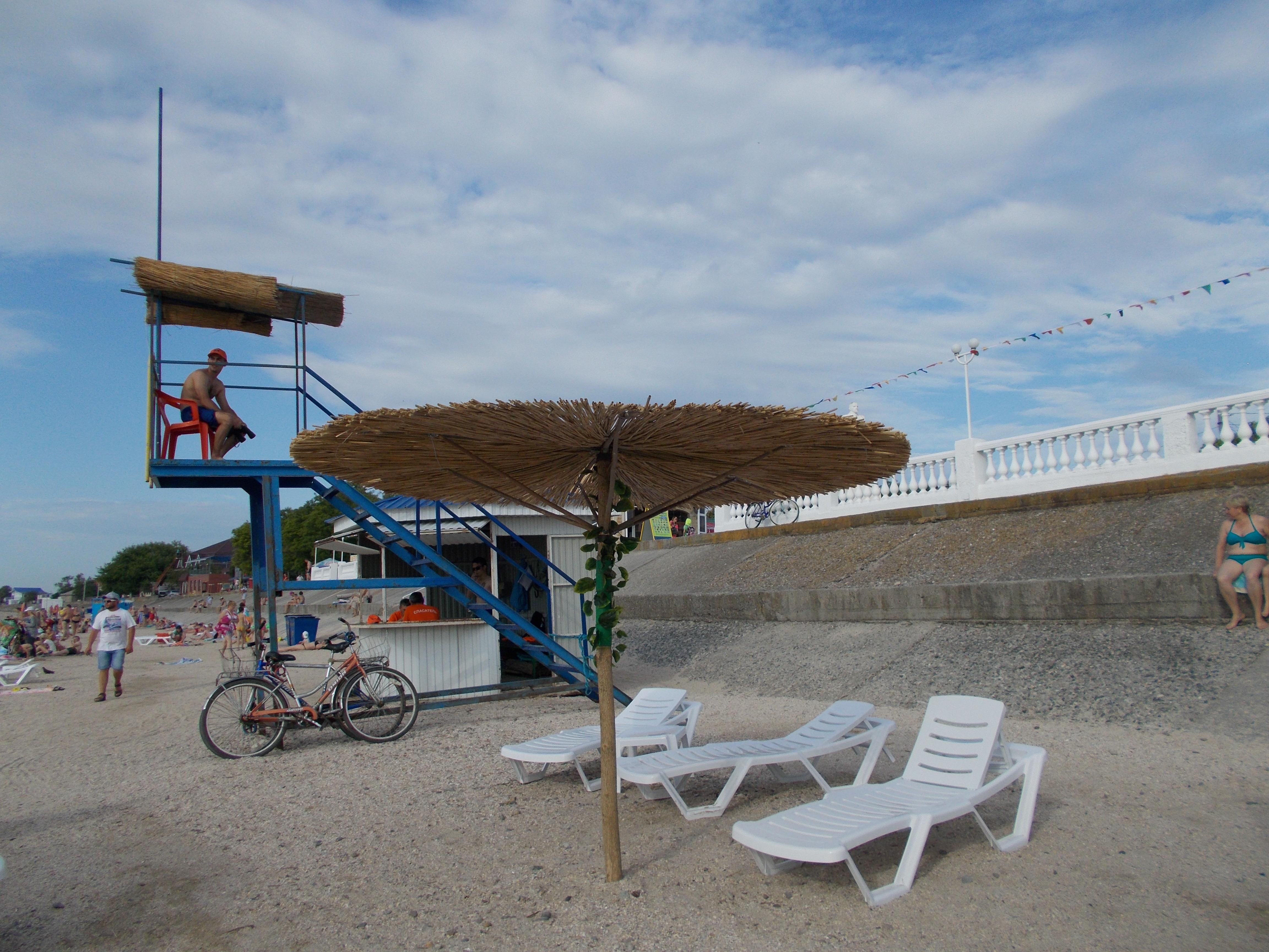 Пляж 2017 г. Приморско-Ахтарск