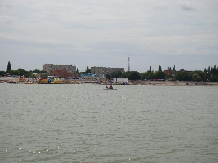 Зелёная набережная Приморско-Ахтарска