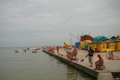 Рыбалка на набережной Приморско-Ахтарска
