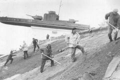 Ремонт укрепления, фотографию прислал Александр Лысенко